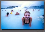 A Girl In Iceland's Hotspring