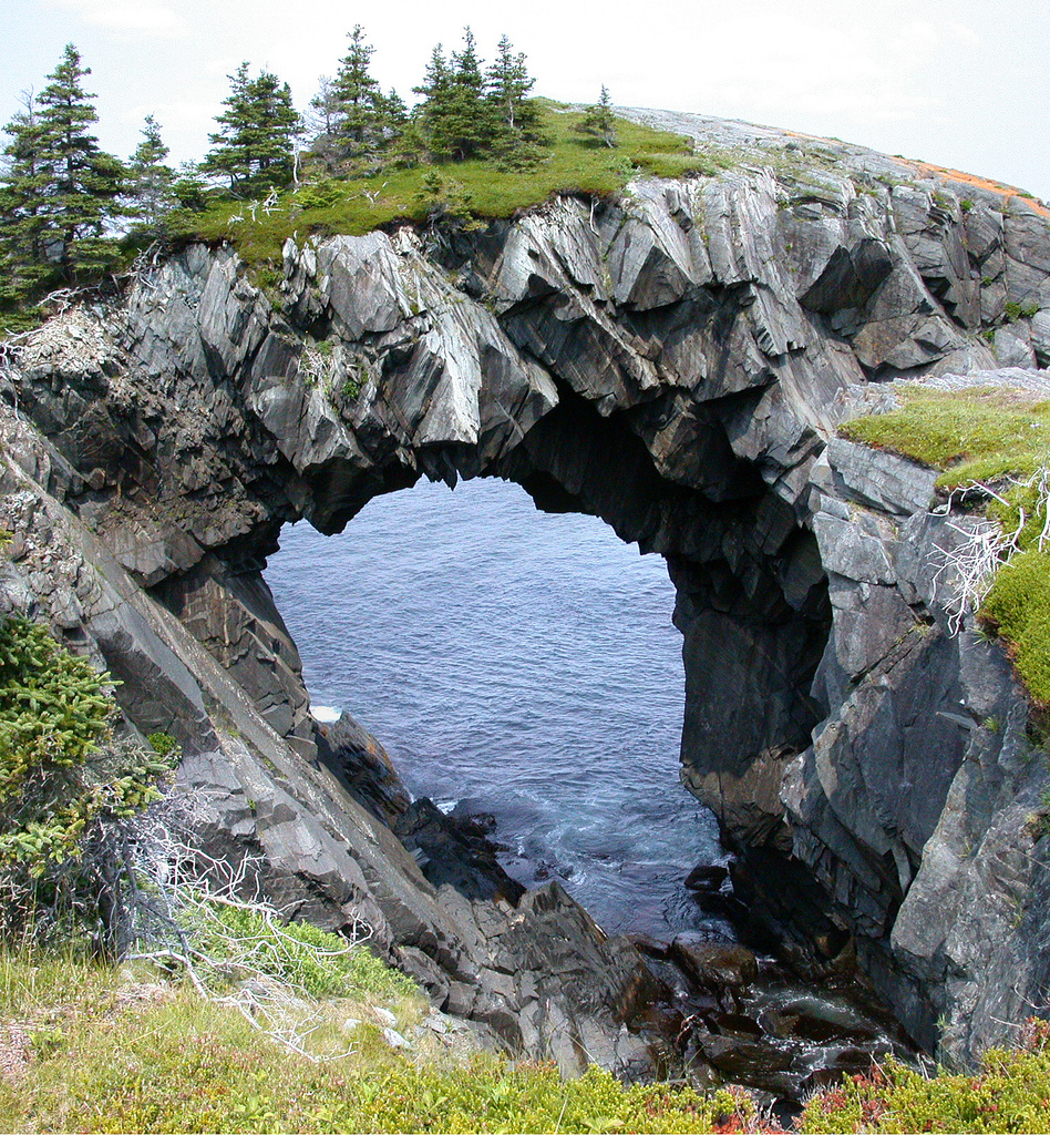 Best Places On Earth To Live: Berry Head Arch, Canada 1
