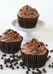 Chocolate-Kahlua-Cupcakes