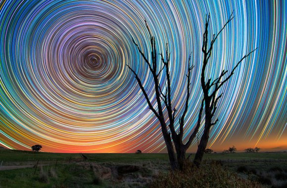 Stunning Long Exposure Shots of Australian Star Trails