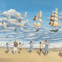 Mind-Bending Optical Illusions by Rob Gonsalves