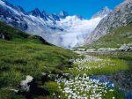 Unteraargletscher-Switzerland