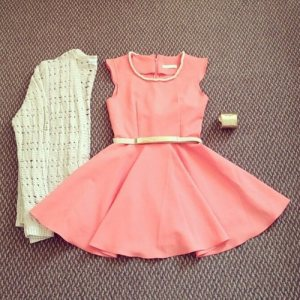 cute-dress-fashion-orange-Favim.com-982499
