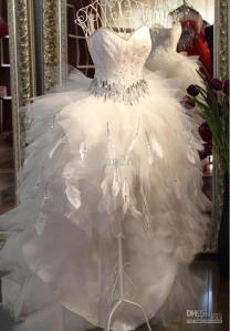 2013-strapless-feather-beaded-crepe-bouffant