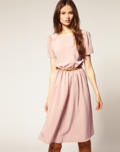 Soft Skirt Midi Dress