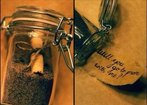 Anyone would love this creative message in a bottle